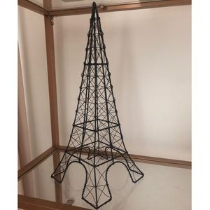Paris Eiffel Tower Jewellery Stand in Black Metal